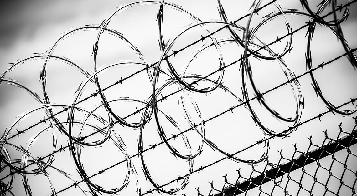 Enrrejado de una cárcel