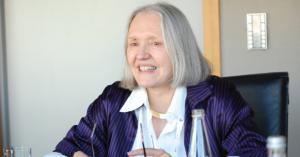 Socióloga holandesa Saskia Sassen de Columbia University