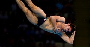 Deportista nadador