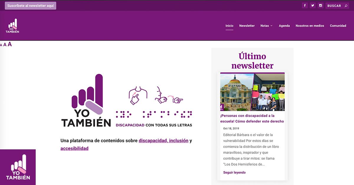 El paso a paso de crear una plataforma de contenidos accesible, ¡la nuestra!