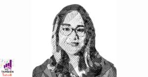 Viñeta ilustrada a blanco y negro de Katia D'Artigues