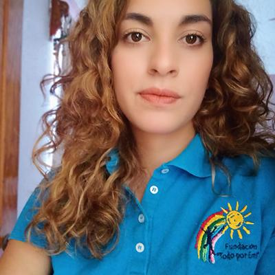 Fotografía del rostro de Maile Rodríguez