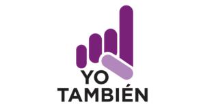 Logotipo de Yo También en fondo blanco.