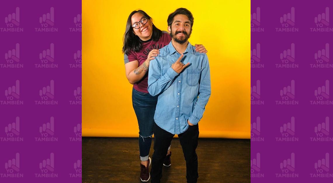 Didí y Gerry, un dúo que con CCñas innovó en los medios al producir contenidos en Lengua de Señas Mexicana.