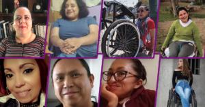 fotografías de ocho personas donde se ven sus rostros sonriendo a la cámara.
