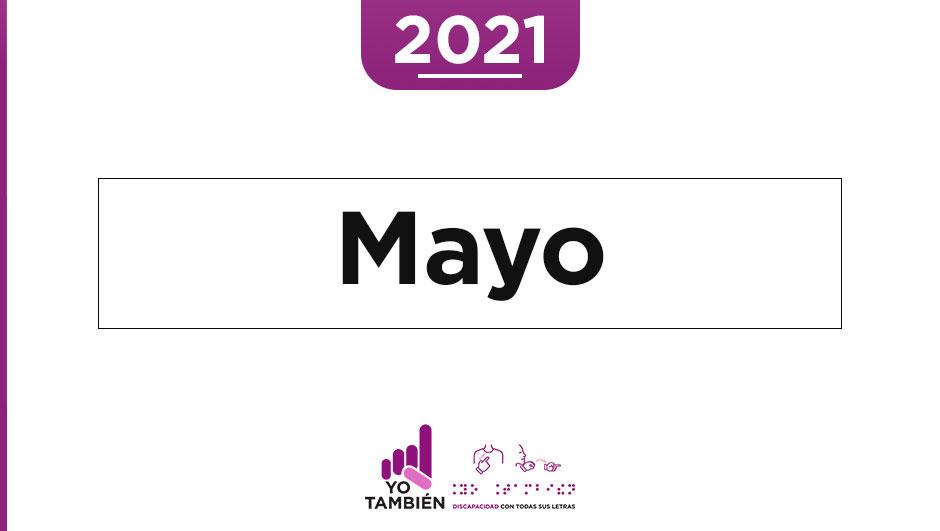 Texto de la imagen: Mayo.