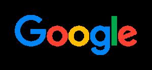 Logotipo de Google en color azul, rojo, amarillo y verde y texto Google