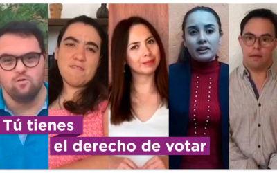 """""""Que con tu voto se escuche tu voz"""": la propuesta de un grupo de pcd"""
