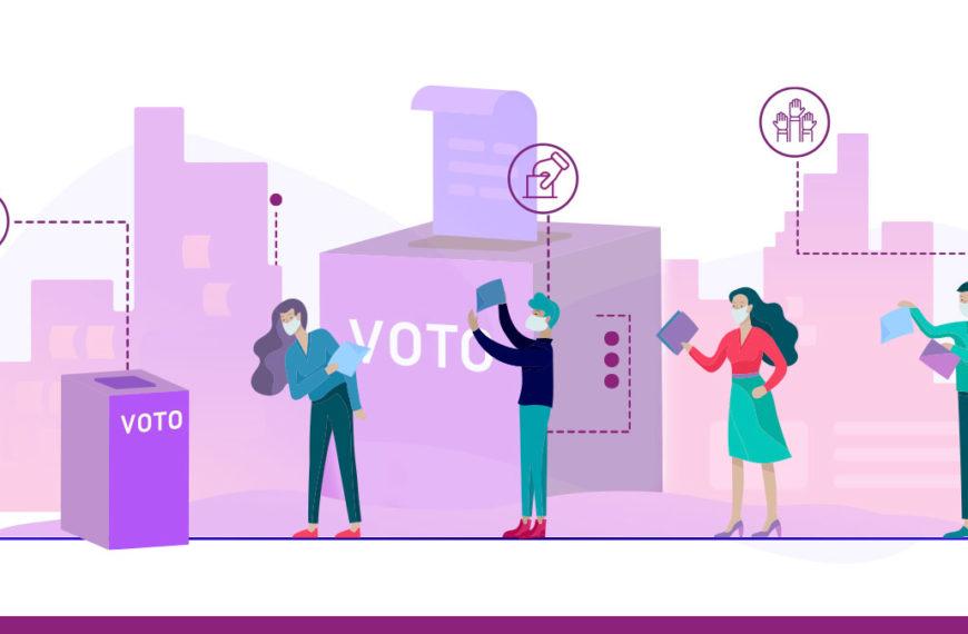 Votación segura y saludable es responsabilidad de todas y todos