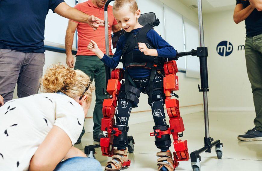 Un sueño hecho realidad: el primer exoesqueleto pediátrico del mundo