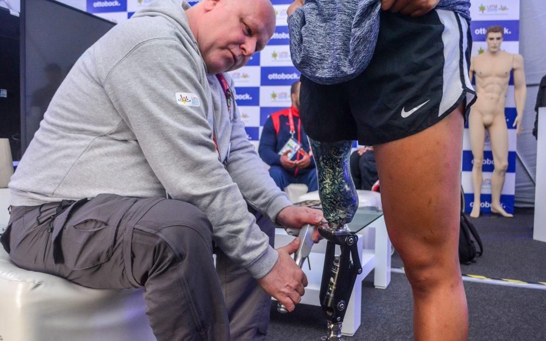 El sostén integral para los atletas paralímpicos