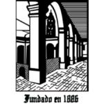 Imagen con el logotipo de la Fundación para Ancianos Concepción Béistegui, IAP, una fotografía con efecto en líneas a blanco y negro de una construcción arquitoctónica de dos arcos. Texto en la imagen: Fundado en 1886.
