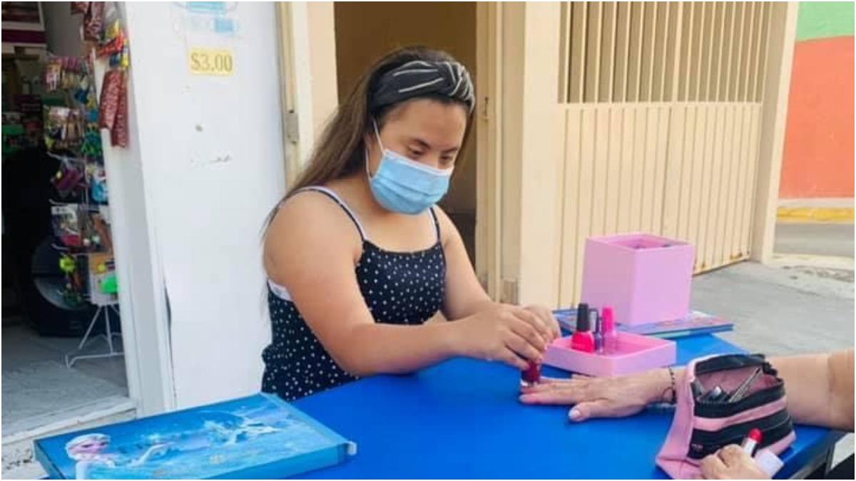 Nicole, la manicurista: la historia detrás de una publicidad viral