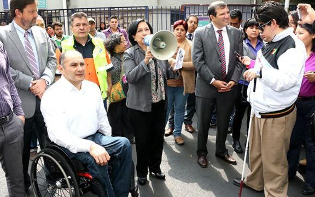 Simulacro Nacional 2021: ¿Cómo apoyar a las personas con discapacidad?