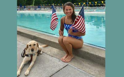Becca Meyers, la sirena sordociega de EEUU, renuncia a su sueño paralímpico