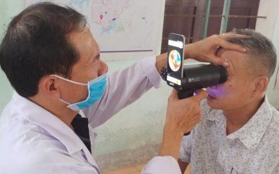 Samsung transforma celulares viejos en dispositivos para estudios de la vista