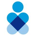 Imagen con el logotipo de Renapred, es un ícono con dos líneas cruzadas, anchas y de color azul claro, las líneas terminan en puntas curvas. Arriba de la cruz formada por ambas líneas hay un círculo de la misma tonalidad de azul claro, el logotipo está sobre fondo blanco.